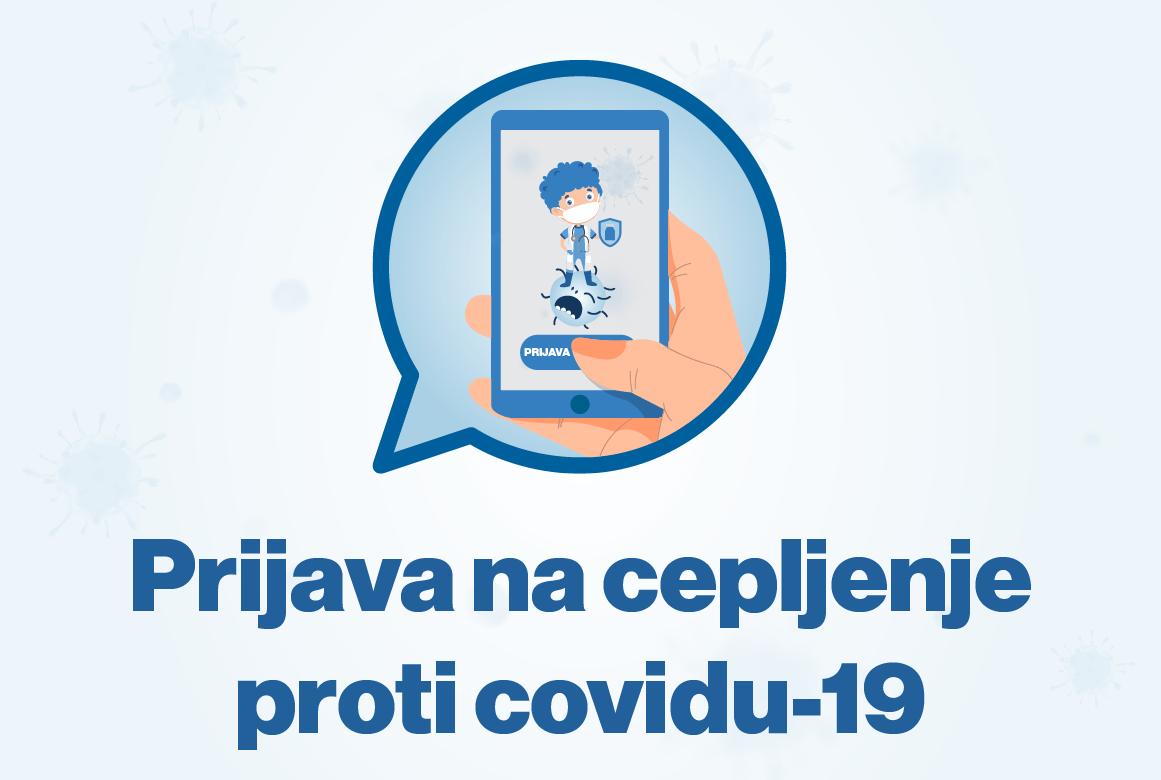 Prijava na cepljenje proti Covid-19